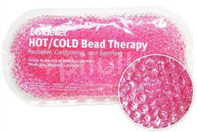 Chladivý/hřejivý polštářek gelové kuličky růžový 1ks