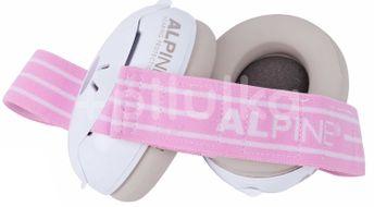 Alpine Izolační sluchátka Muffy Baby růžová