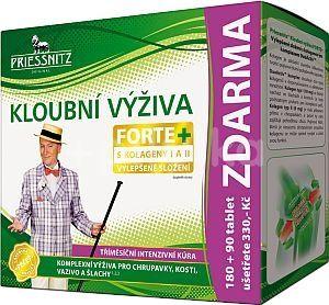 Priessnitz Kloubní výživa Forte+kolageny 180+90 tablet