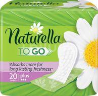 Naturella TO GO, Slipové intimky Plus, 20ks