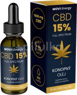 MOVit CBD 15% Full Spectrum konopný olej 10ml