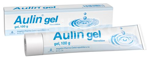 Aulin gel dermální gel 100g