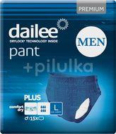 Dailee PANT MEN Premium Plus L Blue 15ks