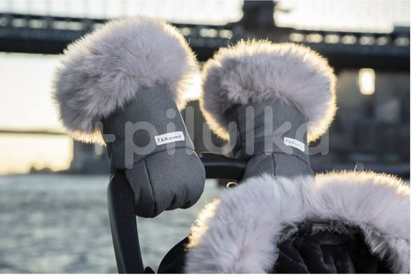 7AM Enfant Rukavice na kočárek Tundra