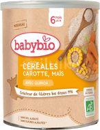 Babybio Zeleninová nemléčná kaše s mrkví a kukuřicí 220g
