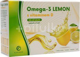 Galmed Omega 3 Lemon s Vitaminem D 180 tobolek