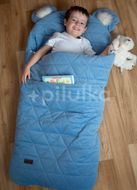 Kinder Hop Spací pytel Dream Catcher Triangles Jeans 170x75cm