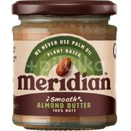 Meridian Mandlové máslo jemné 170g