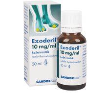 EXODERIL® 10 mg/ml kožní roztok, 20 ml