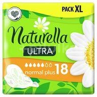 Naturella Ultra Normal Plus Hygienické Vložky S Křidélky 18ks