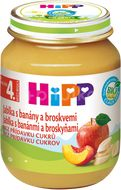 HiPP Ovoce BIO Jablka s banány a broskvemi 125g
