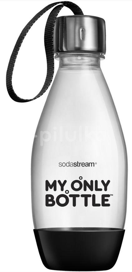 SodaStream Lahev 0,6 l na vodu s sebou společenská černá