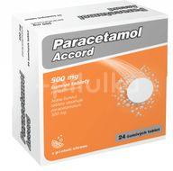 Paracetamol Accord 500mg eff. 24ks
