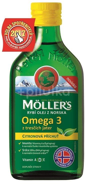 Möller´s Omega 3 Citrón 250ml