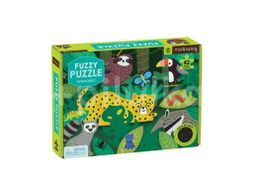 Mudpuppy Fuzzy Puzzle, Deštný prales 42ks