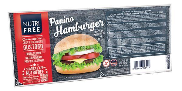 NutriFree Hamburger housky 180g (2x90g)