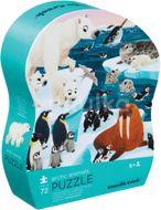 Crocodile Creek Puzzle Arktické zvieratá 72ks