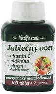 MedPharma Jablečný ocet+Vláknina+Vitamin C+Chrom 107 tablet