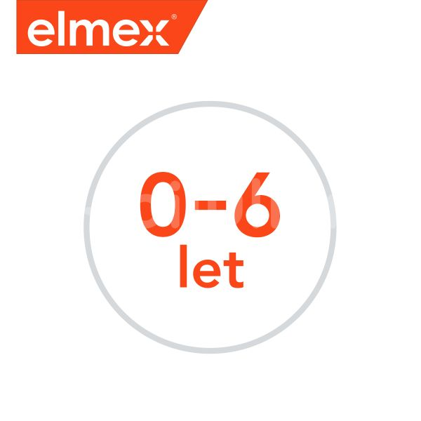 elmex Kids zubní pasta pro děti od prvního zoubku do 6ti let 2x 50ml