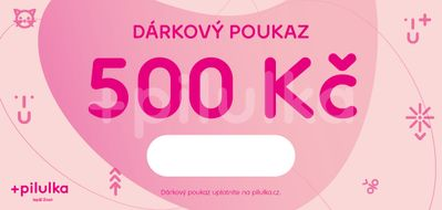 Elektronický dárkový poukaz na 500 Kč