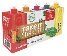 Take it shake it Krokodýl mix ovocný nápoj 5x20ml