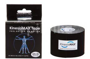 Tejp. KinesioMAX kinesio tape černá 5cmx5m