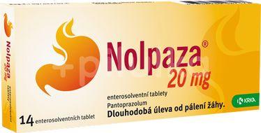 Nolpaza 20 mg enterosolventní tablety 14ks