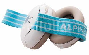 Alpine Izolační sluchátka Muffy Baby modrá