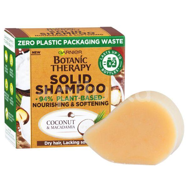 Garnier Botanic Therapy Solid Shampoo Coconut & Macadamia Vyživující a zjemňující tuhý šampon 60g