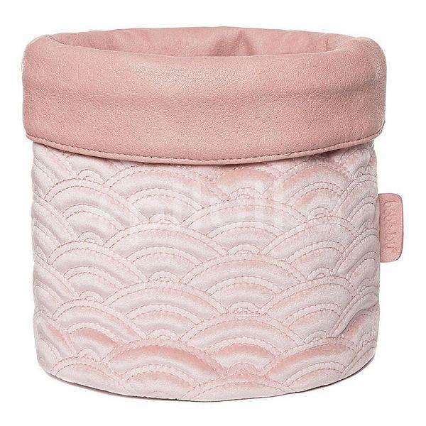 Textilní košík na kojenecké potřeby Bébé-Jou Fabulous Mellow Rose