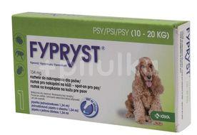 Fypryst 134 mg  roztok pro nakapání na kůži – spot-on pro psy