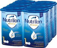 Nutrilon 1 Advanced počáteční kojenecké mléko 6x800g