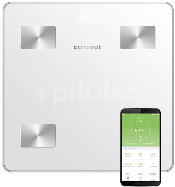 Concept Osobní váha diagnostická Perfect Health VO4000, bílá