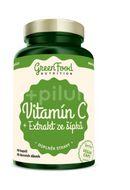 GreenFood Nutrition Vitamín C+ Extrakt ze šípků 60cps