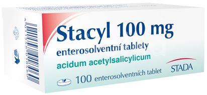 Stacyl 100 mg enterosolv. perorální tablety Enterosolventní měkká 100x100mg