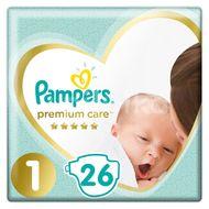 Pampers Premium Care S1 2-5kg 26ks