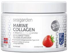 Seagarden Marine Collagen + Vitamin C, Jahoda 150g