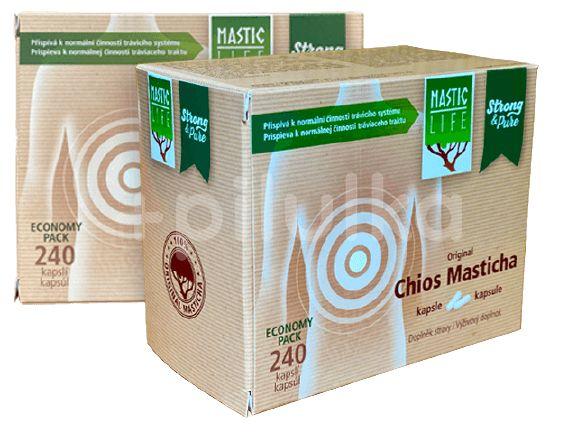 Masticlife Čistý prášek z chioské Mastichy 240 kapslí