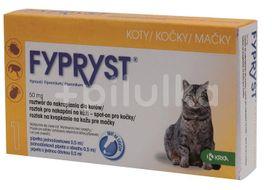 Fypryst 50 mg roztok pro nakapání na kůži – spot-on pro kočky