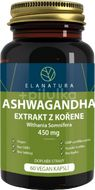 Elanatura Ashwagandha extrakt z kořene (ašvaganda) 450mg, 60 vegan kapslí