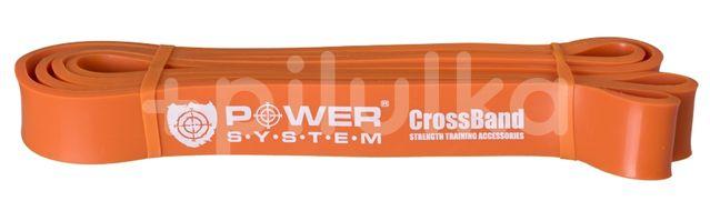 Power System guma na posilování CROSS BAND LEVEL 2 Oranžová