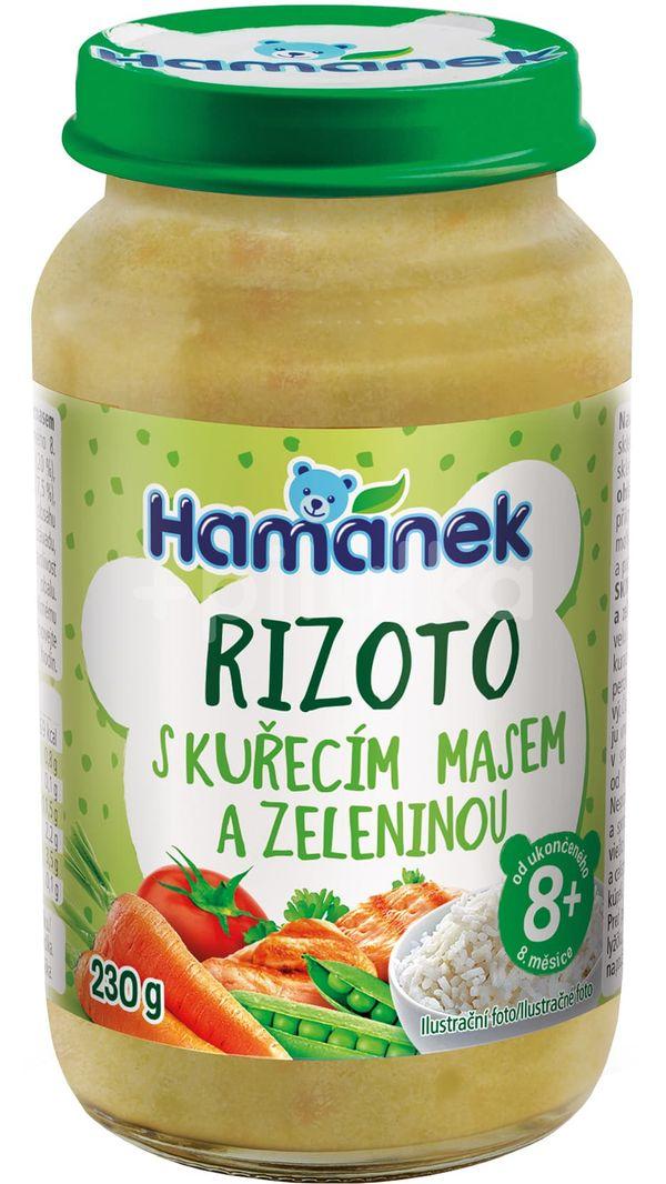Hamánek Rizoto s kuřecím masem a zeleninou 230g