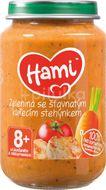 Hami příkrm Zelenina se šťavnatým kuřecím stehýnkem od uk. 8. měsíce 200g