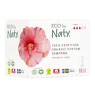 Eco by Naty Dámské ECO tampóny super 18ks