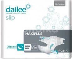 Dailee Slip Premium MAXI PLUS inkontinenční kalhotky L/XL 28ks