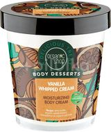 Organic Shop, Vanilka & Bambucké máslo,Tělový krém,450ml