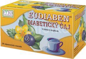 Fytopharma Eudiaben Diabetický čaj n.s. 20x1g