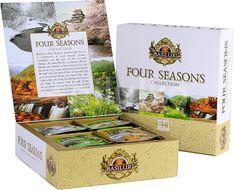 BASILUR Four Seasons Assorted 40 gastro sáčků