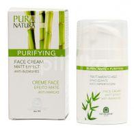 Natura House Purifying Krém na tvář s cejlonskou skořicí a zinkem 50ml