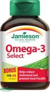 Jamieson Omega-3 Select 1000mg 200 kapslí